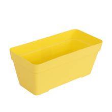 Jardineira Plástico Sampa Amarelo Grande