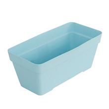 Jardineira Plástico Sampa Azul Grande