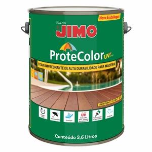 Jimo Protecolor UV Preto Transparente Galão 3,6l