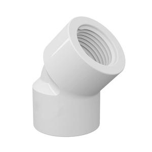 "Joelho 45° Branco PVC Água Fria 40mm ou 1.1/4"" Tigre"