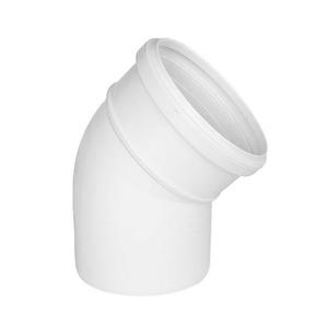 "Joelho 45° PVC Esgoto 40mm ou 1.1/2"" Plastilit"