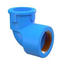 """Joelho 90° Azul PVC Água Fria 25mmx20mm ou 3/4""""x1/2"""" Plastilit"""