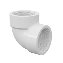 "Joelho 90° Branco PVC Água Fria 20mm ou 1/2"" Plastilit"