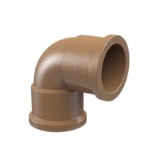 "Joelho 90° Marrom PVC Água Fria 20mm ou 1/2"" Tigre"