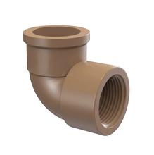 "Joelho 90° Marrom PVC Água Fria 25mmx25mm ou 3/4""x3/4"" Plastilit"