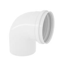 "Joelho 90° PVC Esgoto 150mm ou 6"" Plastilit"
