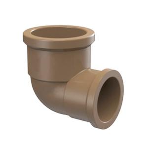 "Joelho de Redução 90° Marrom PVC Água Fria 32mmx25mm ou 1""x3/4"" Plastilit"