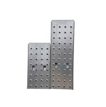 Jogo com Duas Plataformas em Aço para Escada D137601D 86,7x29,3cm e 58,5x29,3cm Evolux