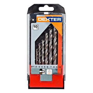 Jogo de Brocas para Metal 10 Pçs Dexter