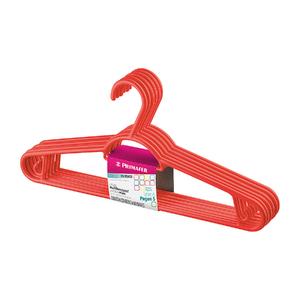 Jogo de Cabide Multifuncional 6 Unidades Vermelho Primafer