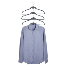 Jogo de Cabide para Calças e Camisetas 4 Unidades 23x45cm Preto Spaceo
