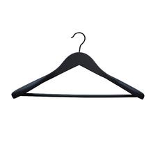 Jogo de Cabide para Calças e Camisetas Madeira Preto Spaceo