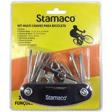 Jogo de Chave para Bicicleta 16 peças Stamaco