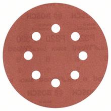 Jogo de Lixa para Máquina Roto Orbital para Metal Grão 320 5 unidades Bosch