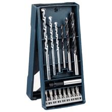 Jogo X-Line com 15 peças Furar e Parafusar Bosch