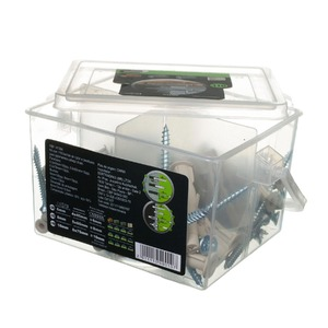 Kit 110 Parafuso para Concreto e Alvenaria Diversos Tamanhos com Parafuso Importado