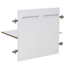 Kit 2 Portas e Prateleira 60x46cm Branco Remix Móveis Bechara