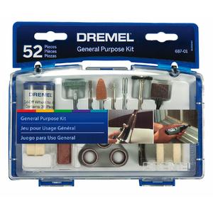 Kit 687 Uso Geral 52 peças Dremel