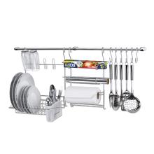 Kit Acessórios para Cozinha Cromado Cook Home Delinia
