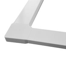 Kit Arremate Para Janela Magnum Alumínio Branco 100x100cm Atlântica