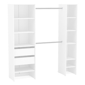 m dulo closet branco 190x175x45cm prime leroy merlin. Black Bedroom Furniture Sets. Home Design Ideas