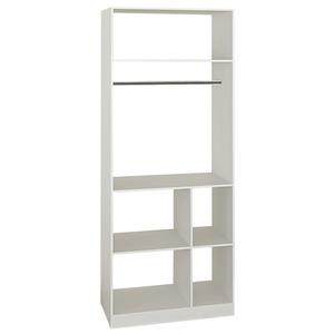 Kit Closet Branco 2.23x90x52 Closet Spaceo