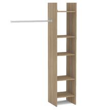 Kit Closet Castanho 1,84x1,14x40cm Basic Politorno