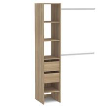 Kit Closet Castanho 190x121x45cm Prime