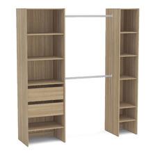 Kit Closet Castanho 190x175x45cm Prime