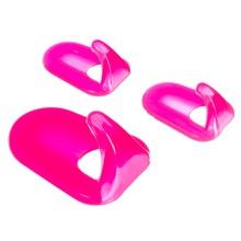 Kit com 3 Ganchos (2 Pequenos e 1 Médio) Polipropileno Pink Marvini