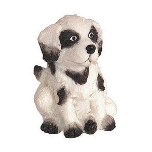 Kit com 4 Puxadores para Móveis Infantil Resina Colorido Cachorro Bskf