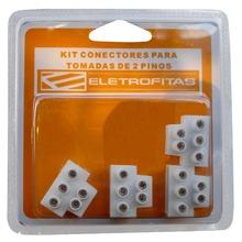 Kit Conector 3 Saidas ELETROFITAS