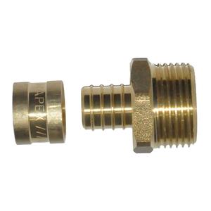 """Kit Conexão PEX Macho 20mm ou 3/4"""" Astra"""