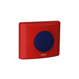 Kit Conversor para Válvula de Descarga 1.1/4 Vermelho e Azul Hydra Duo Kids