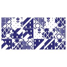 Kit de Adesivo Ladrilho Pietra 20x20cm 18 peças
