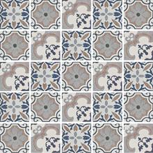 Kit de Adesivos Azulejo Soraya Bege 20x20cm 25 peças