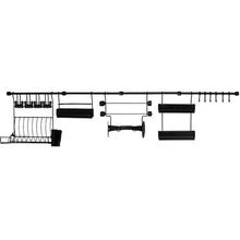 Kit de Cozinha D Requinte Master Preto Metaltru