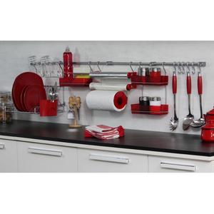 Kit barra de cozinha requinte master metaltru leroy merlin for Barra portautensili cucina leroy merlin