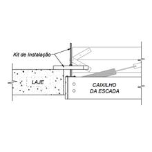 Kit de Instalação para Escada de Sotão de Madeira Forplas