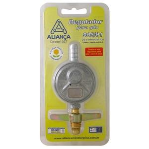Registro para botij o de g s 1kg h de aperto alian a for Regulador de gas butano leroy merlin