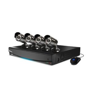 Kit de Monitoramento D1 1425 8 Canais com 4 Câmeras PRO-5410 sem HD Infinito