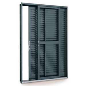porta montada balc o veneziana metal a o esquerdo 2 17x1 6m sasazaki leroy merlin. Black Bedroom Furniture Sets. Home Design Ideas