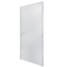 Kit de Porta Montada de Giro Lisa de Alumínio 2,15x0,88m 3A Alumínio