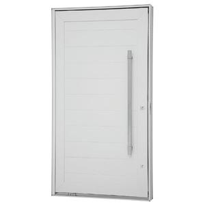 Kit de Porta Montada Pivotante Lisa de Alumínio 2,23x1,20m Sasazaki