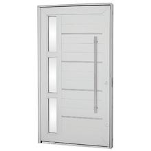 Kit de Porta Montada Pivotante Decorada de Alumínio 2,43x1,40m Sasazaki
