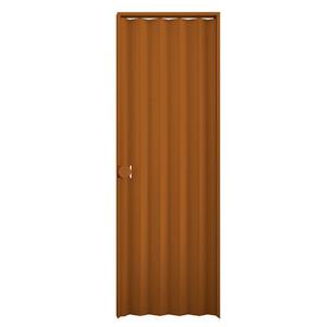 Kit de Porta Montada Sanfonada Lisa de PVC 2,10x0,60m Araforros