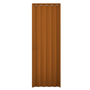 Kit de Porta Montada Sanfonada Lisa de PVC 2,10x0,70m Araforros
