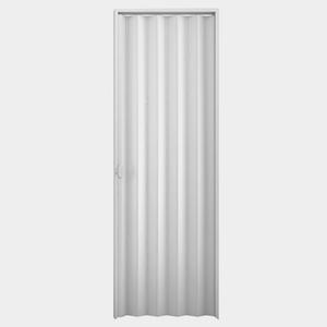 Kit de Porta Montada Sanfonada de PVC 2,10x0,72m Duda