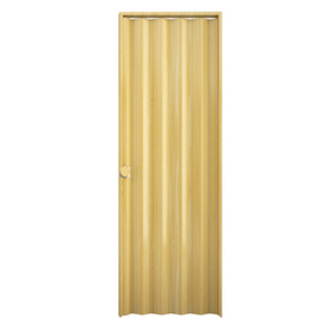 Kit de Porta Montada Sanfonada Lisa de PVC 2,10x0,80m Araforros
