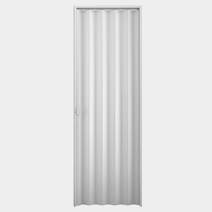 Kit de Porta Montada Sanfonada de PVC 2,10x0,84m Duda